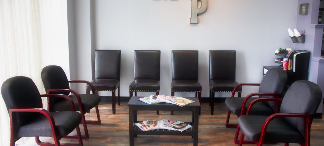 Our waiting area